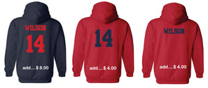 """P"" Hoodie ADULT and YOUTH- Spirit-wear"