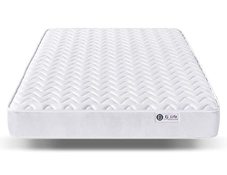 4FT6 Double 9-Zone Memory Foam Mattress with Pocket Springs - Orthopaedic Mattress - 10.6-Inch