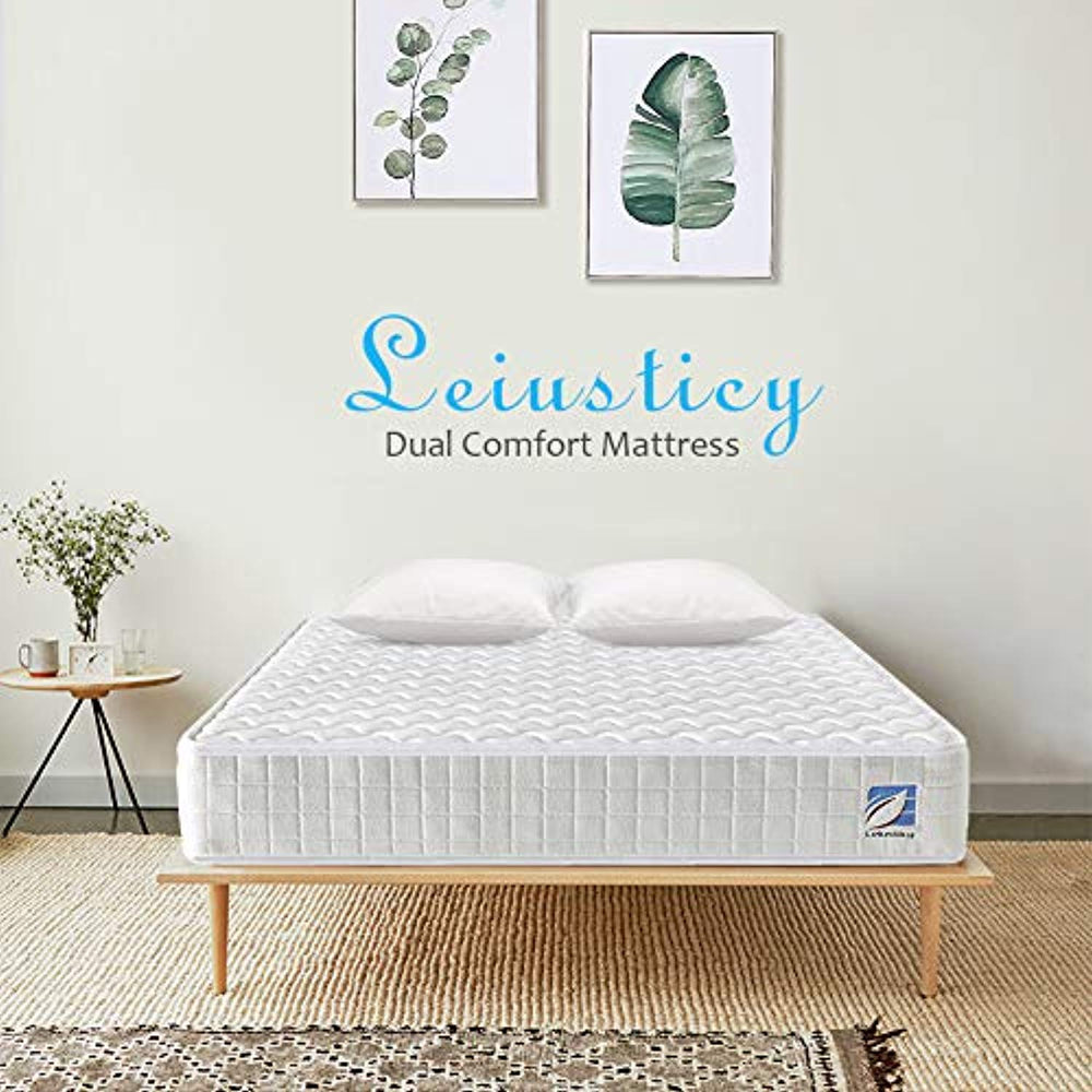 Ej. Life 5FT King Size Mattress, King Pocket Sprung Mattress with Memory Foam - 9 Zone Orthopaedic Mattress