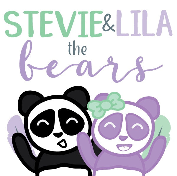 Stevie & Lila the Panda Bears