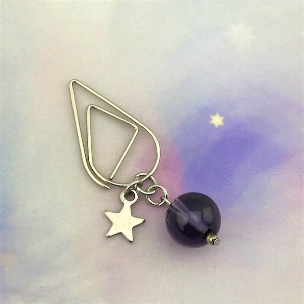 Dwarf Star Dangle Clip ~ Inspireology Charms ~ Handmade Planner Accessories