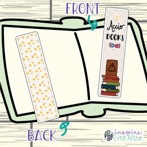 Magical Books Bookmark ~ Hand Drawn Reading Inspired Bookmarks ~ Planner & Book Accessories