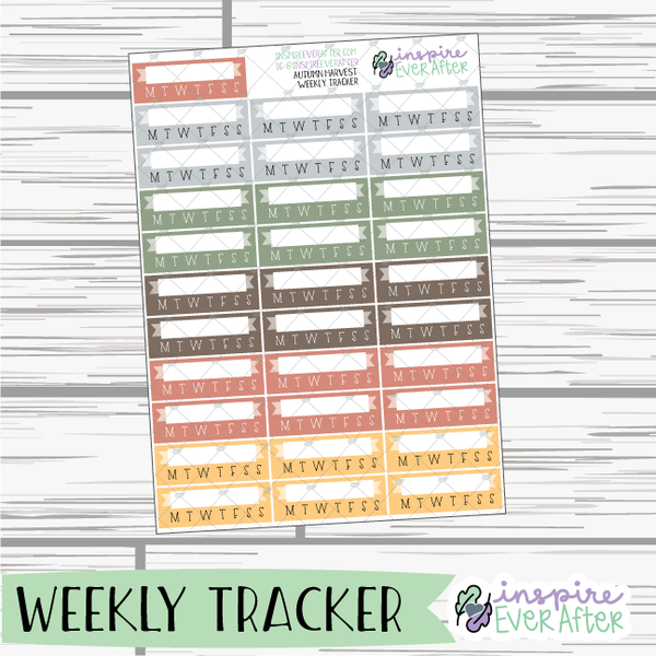 Autumn Harvest ~ Fall Seasonal Functional Collection ~ Planner Stickers