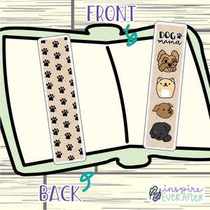 Dog Mama Bookmark ~ Hand Drawn Pets Inspired Bookmarks ~ Planner & Book Accessories