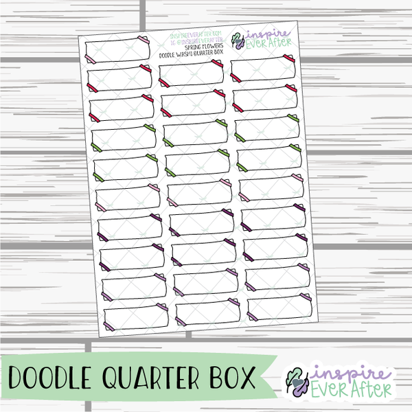 Spring Flowers ~ Seasonal Functional Collection ~ Planner Stickers