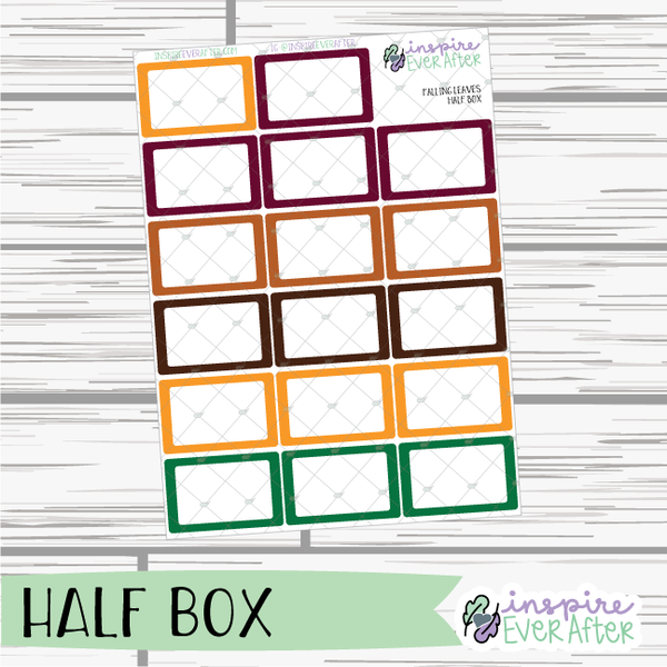 Falling Leaves ~ Fall Seasonal Functional Collection ~ Planner Stickers
