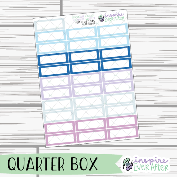Head In The Clouds ~ Airy, Pastel Functional Collection ~ Planner Stickers