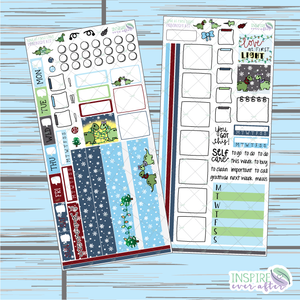 Love At First Light Hobonichi Weekly Kit ~ Hand Drawn Planner Stickers