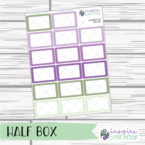 Lavender Fields ~ Seasonal, Floral Functional Collection ~ Planner Stickers