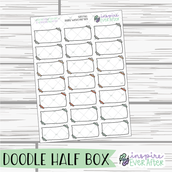 Soft Fall ~ Fall Seasonal Functional Collection ~ Planner Stickers