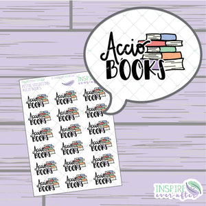 Magical Books ~ Hand Drawn Petite Collection ~ Planner Stickers