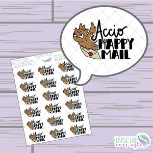 Magical Happy Mail ~ Hand Drawn Petite Collection ~ Planner Stickers