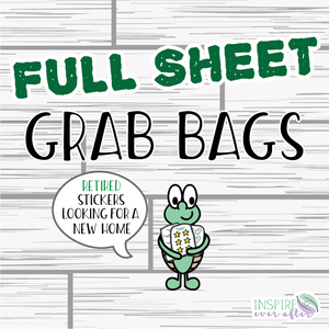 Full Sheet Grab Bag!