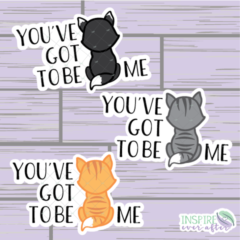 You've Got To be Kitten Me Die Cut ~ Hand Drawn Planner Accessories