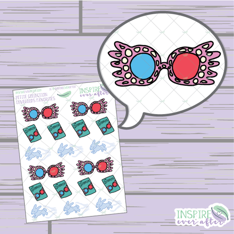 Love good's Favorites ~ Hand Drawn Petite Collection ~ Planner Stickers