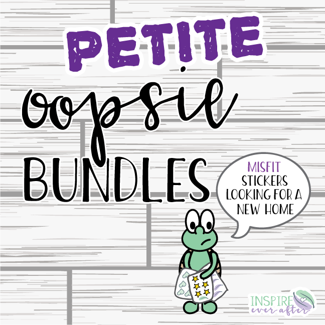 Petite Sheet Oopsie Bundles ~ Bundle of 5, 10 OR 20