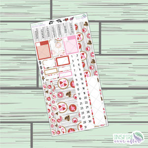 Sweet Treat PPWeeks Monthly Kit ~ Hand Drawn Functional Planner Stickers