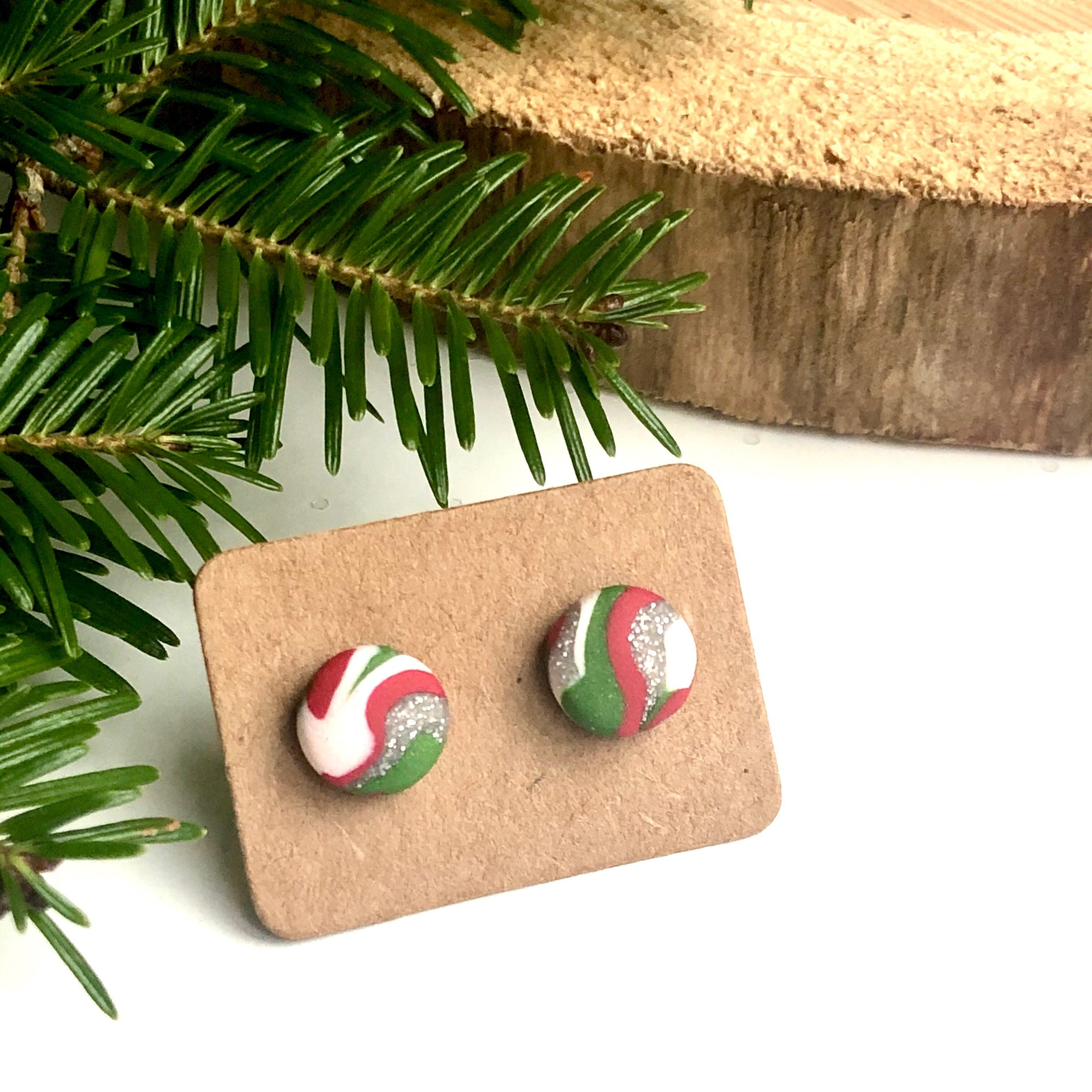 Oh, Christmas Tree Earrings