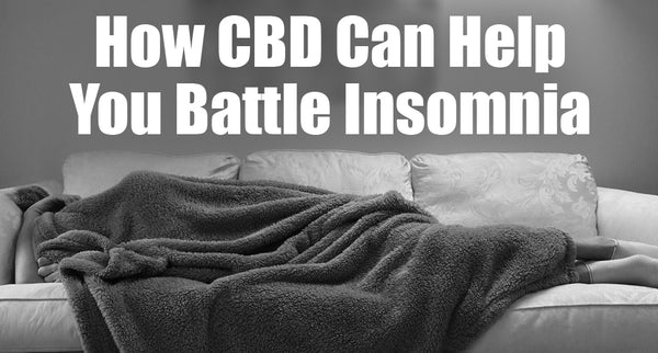 How CBD Can Help You Battle Insomnia