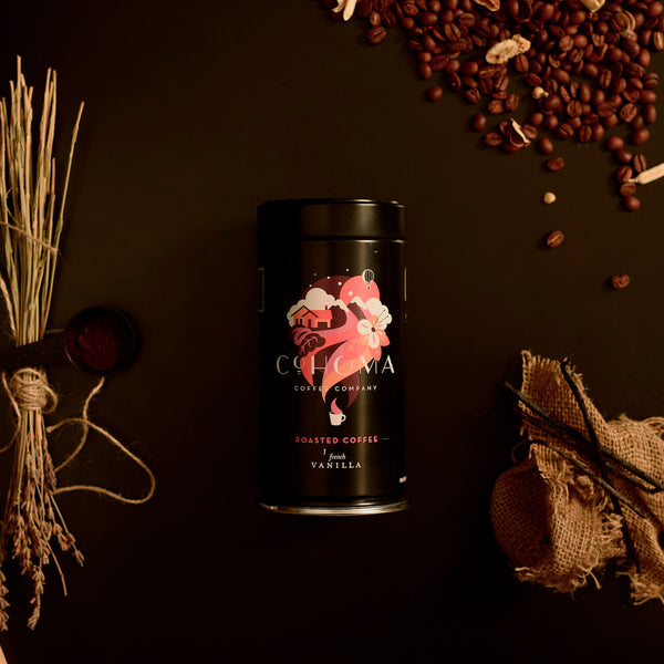 Roasted Coffee: French Vanilla (Tins) - Subscription - Cohoma Coffee