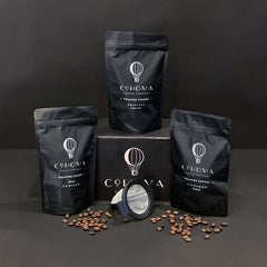 Roasted Coffee: Sampler Box - Cohoma Coffee