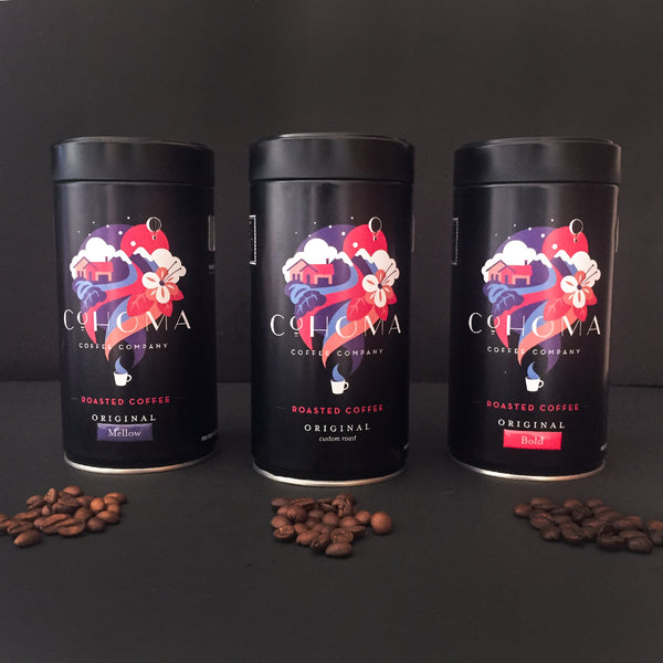 Roasted Coffees Original Collection - Cohoma Coffee
