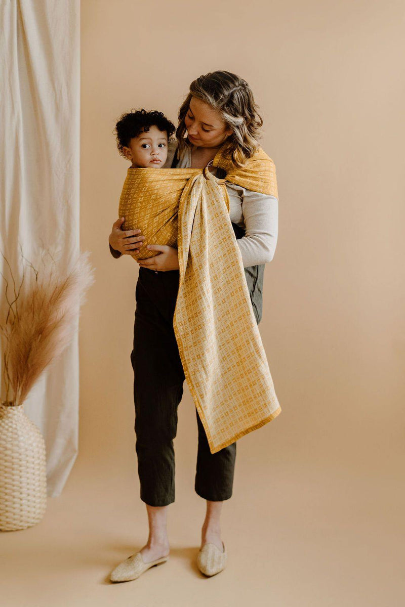 Flip Side Ring Sling | Linen Blend