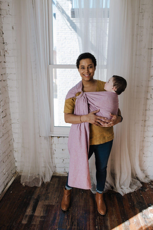 Orchid Ring Sling - hope&plum - baby carrier