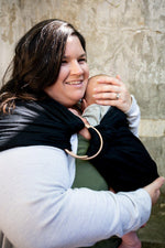 Sable Ring Sling - hope&plum - baby carrier