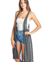 Sharons Outlet Light-Weight Sleeveless Racerback Cardigan
