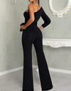 Keeping it Classy One Shoulder Slit Jumpsuit