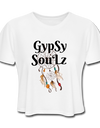GypSy SouLz Cropped Tee - white