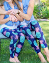Mom And Daughter Matching Pineapple Leggings