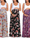 Women's Maternity Floral Maxi Dress