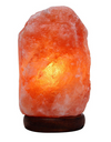 Natural Himalayan Hand Carved Pink Sea Salt Air Purifier Lamp