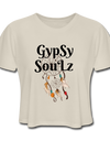 GypSy SouLz Cropped Tee - Dust
