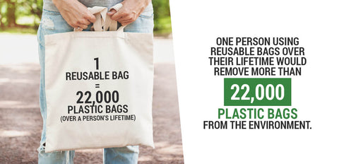reusable bag vs plastic bag