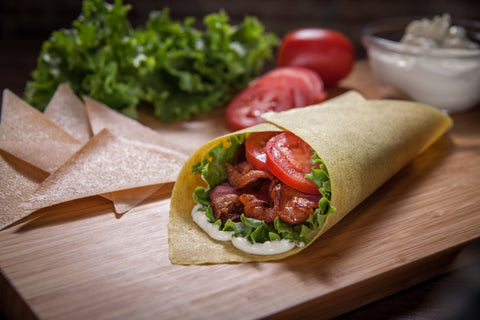 Bacon, Lettuce, Tomato Wrap