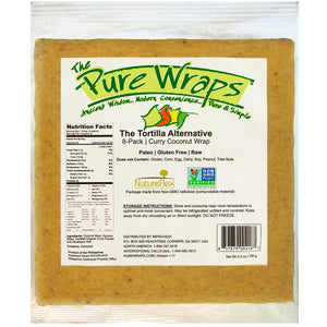 Curry Coconut Wraps [8-Pack]