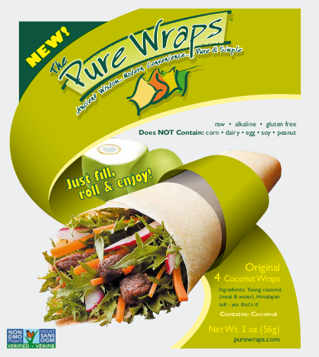 Original [4-Pack] Coconut Wraps
