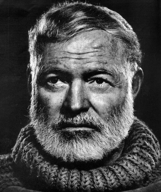 Hemingway wore it well.