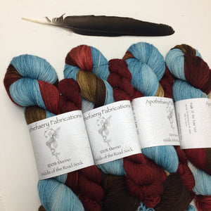 Rugged - sock yarn with mini