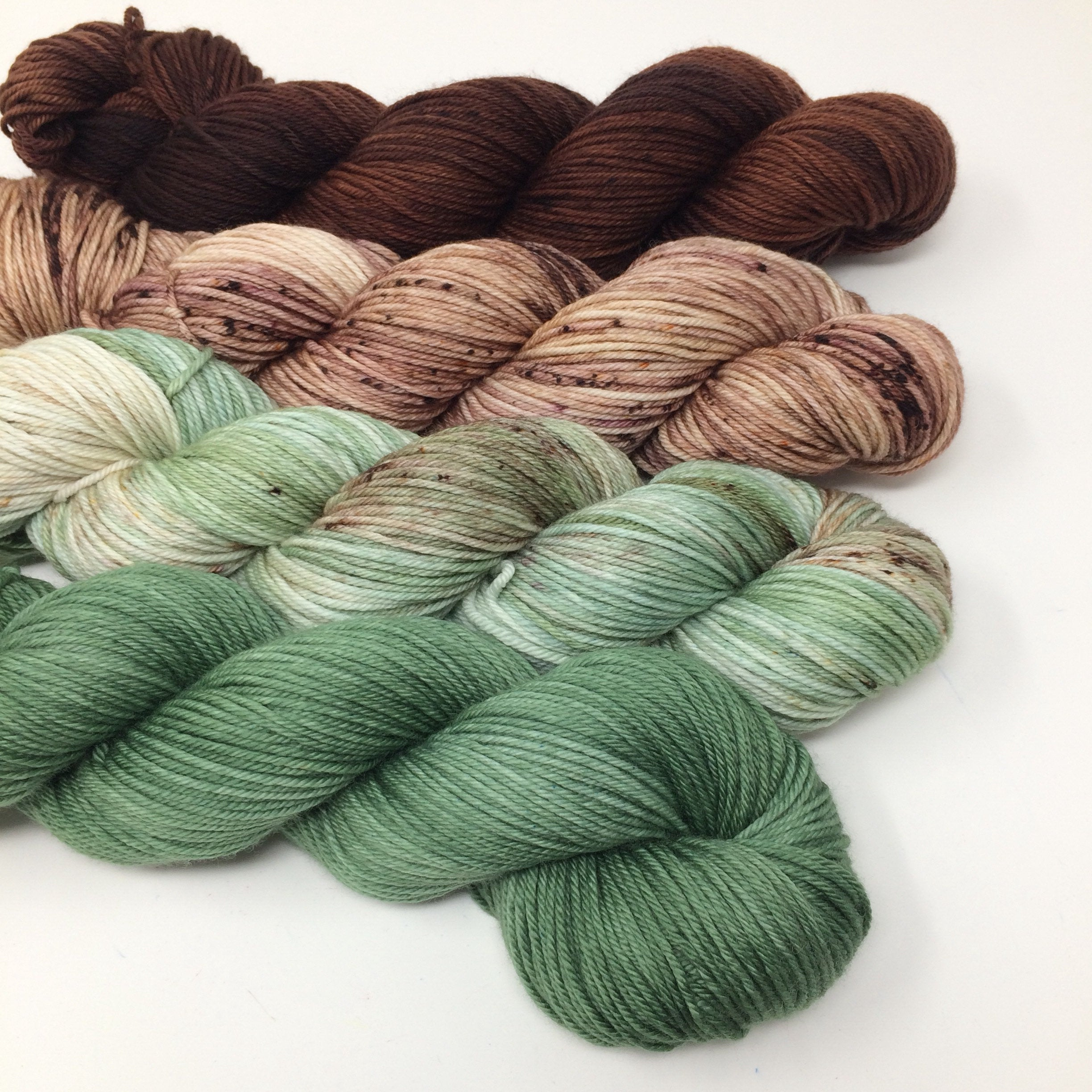 Fade Sets - 2,000 yards - in delightful dk - Mistletoe in the Trees