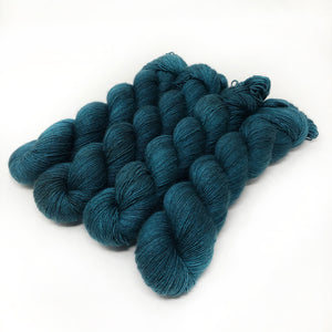 Deep Pool - 70/30 merino silk single ply