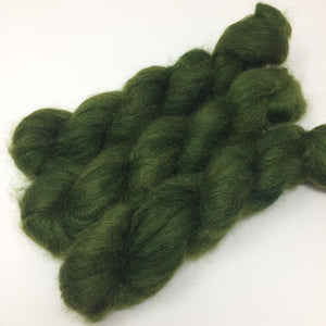 Dragonskin - thistledown - brushed mohair and silk laceweight