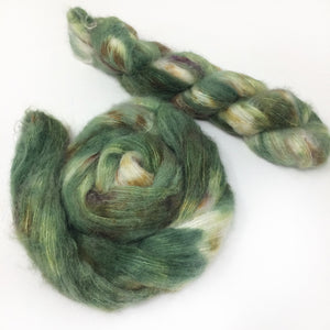 Summer Spruce and its Uses - Halo Silk Laceweight