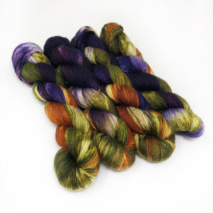 Cornucopia- 70/30 merino silk single ply