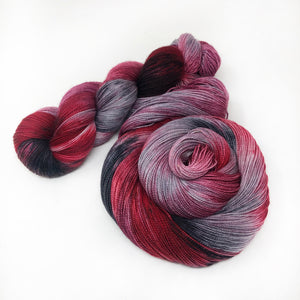 Cherry Blossoms - Shawl length skein - 600 yards