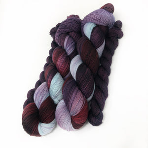 Enchanted - sock yarn with mini