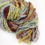 Harvest Peppers - coil textured hand spun